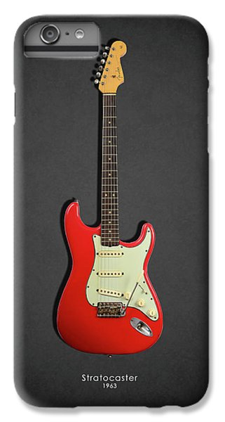 Guitar iPhone 6s Plus Case - Fender Stratocaster 63 by Mark Rogan