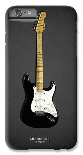 Eric Clapton iPhone 6s Plus Case - Fender Stratocaster Blackie 77 by Mark Rogan
