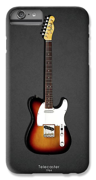 Guitar iPhone 6s Plus Case - Fender Telecaster 64 by Mark Rogan