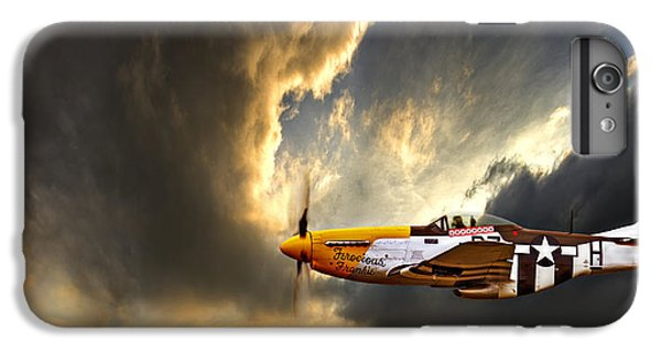 Airplane iPhone 6s Plus Case - Ferocious Frankie by Meirion Matthias
