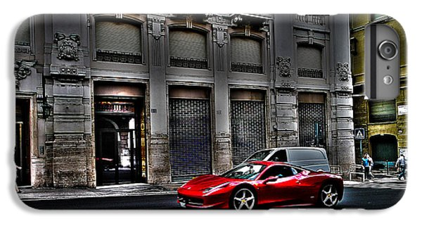 Ferrari In Rome IPhone 6s Plus Case by Effezetaphoto Fz