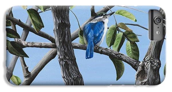 Kingfisher iPhone 6s Plus Case - Filipino Kingfisher by Wendy Ballentyne
