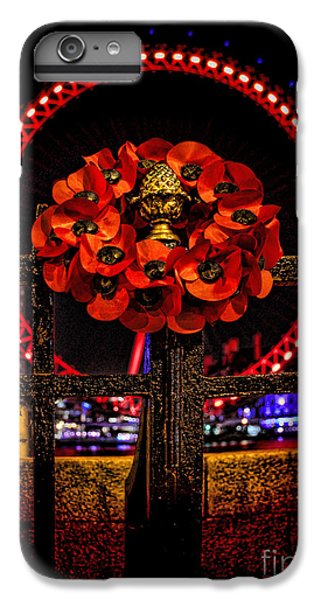 Final Salute IPhone 6s Plus Case by Jasna Buncic