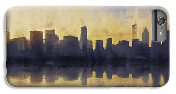 Lake Michigan iPhone 6s Plus Case - Fire In The Sky Chicago At Sunset by Scott Norris