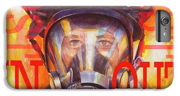 Fitness iPhone 6s Plus Case - Firefighter by Steve Henderson