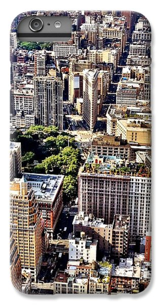 Place iPhone 6s Plus Case - Flatiron Building From Above - New York City by Vivienne Gucwa