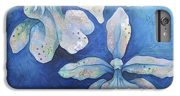 Floating Orchid IPhone 6s Plus Case by Shadia Derbyshire