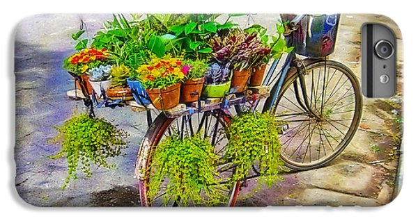 Flower Bike Collection IPhone 6s Plus Case