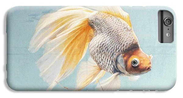 Goldfish iPhone 6s Plus Case - Flying In The Clouds Of Goldfish by Chen Baoyi