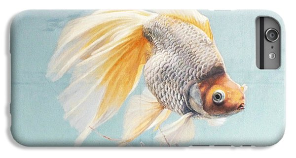Flying In The Clouds Of Goldfish IPhone 6s Plus Case by Chen Baoyi