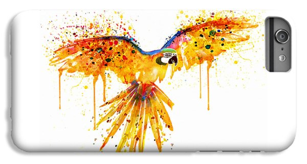 Flying Parrot Watercolor IPhone 6s Plus Case