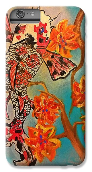 Focus Flower  IPhone 6s Plus Case by Miriam Moran