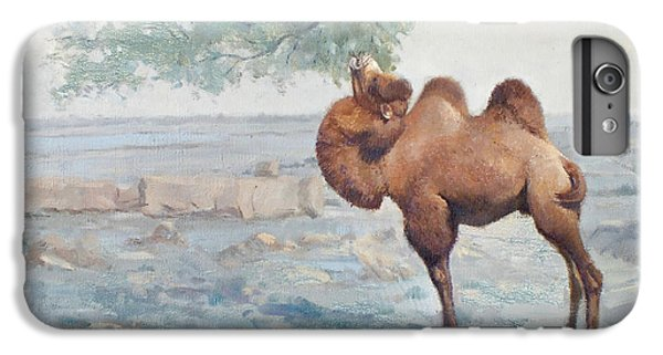 Camel iPhone 6s Plus Case - Foraging by Chen Baoyi