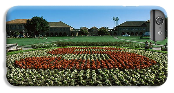 Stanford iPhone 6s Plus Case - Formal Garden At The University Campus by Panoramic Images