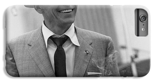 Frank Sinatra - Capitol Records Recording Studio #3 IPhone 6s Plus Case by The Titanic Project