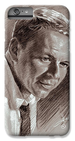 Frank Sinatra  IPhone 6s Plus Case by Ylli Haruni