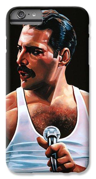 Barcelona iPhone 6s Plus Case - Freddie Mercury by Paul Meijering