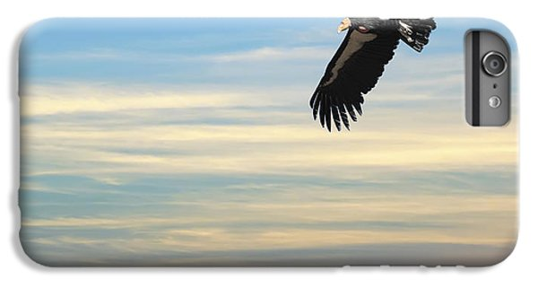 Free To Fly Again - California Condor IPhone 6s Plus Case by Daniel Hagerman