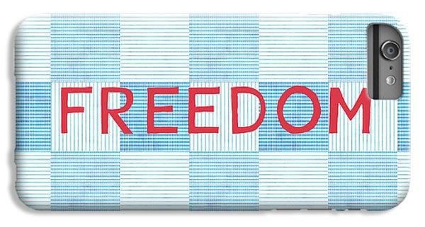 Freedom Patchwork IPhone 6s Plus Case
