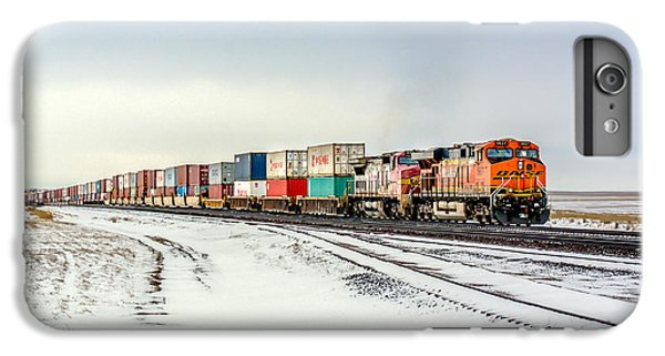 Train iPhone 6s Plus Case - Freight Train by Todd Klassy