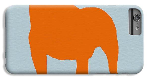 Dog iPhone 6s Plus Case - French Bulldog Orange by Naxart Studio