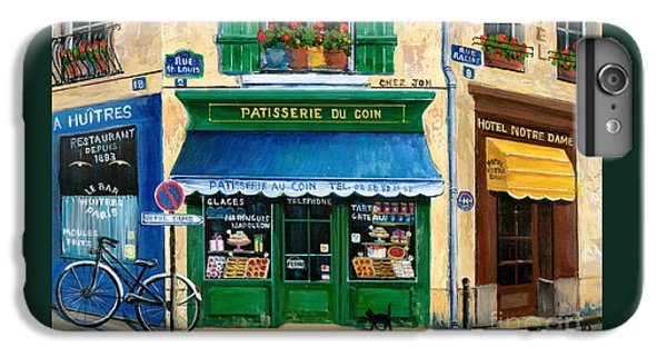 French Pastry Shop IPhone 6s Plus Case