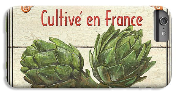 Artichoke iPhone 6s Plus Case - French Vegetable Sign 2 by Debbie DeWitt