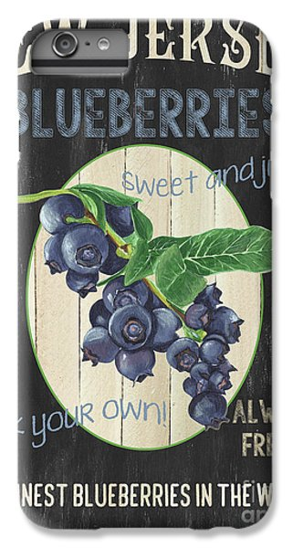Blueberry iPhone 6s Plus Case - Fresh Berries 1 by Debbie DeWitt