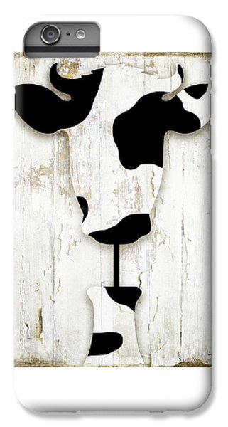 Cow iPhone 6s Plus Case - Fresh Dairy by Mindy Sommers