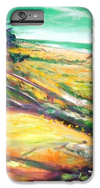 IPhone 6s Plus Case featuring the painting From The Lawn Pandanus by Winsome Gunning