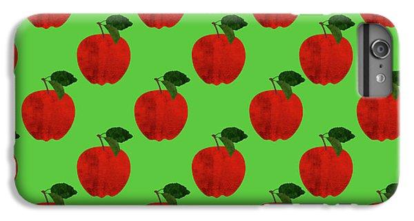 Fruit 02_apple_pattern IPhone 6s Plus Case