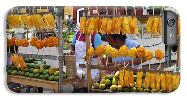 Fruit Stand Antigua  Guatemala IPhone 6s Plus Case by Kurt Van Wagner