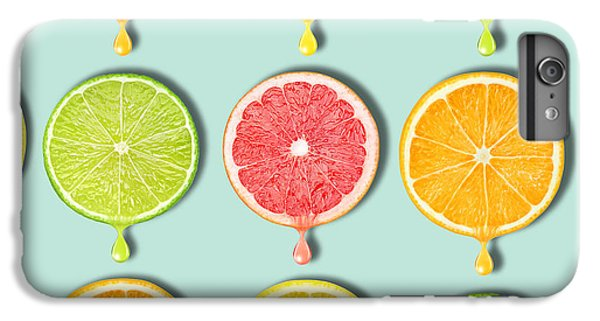 Grapefruit iPhone 6s Plus Case - Fruity by Mark Ashkenazi