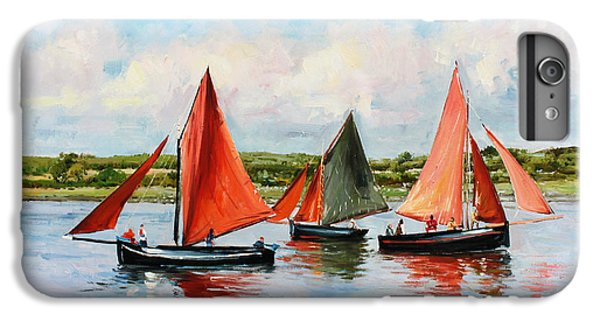 Boats iPhone 6s Plus Case - Galway Hookers by Conor McGuire