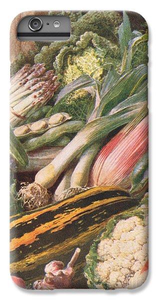 Garden Vegetables IPhone 6s Plus Case by Louis Fairfax Muckley