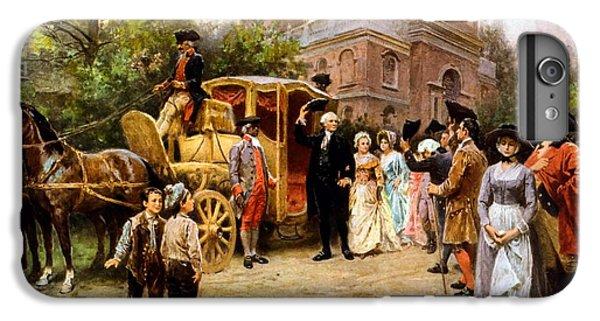 George Washington Arriving At Christ Church IPhone 6s Plus Case