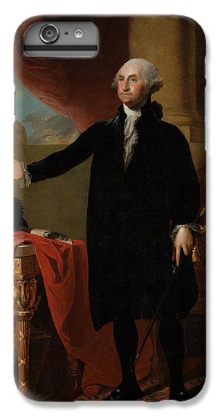 George Washington Lansdowne Portrait IPhone 6s Plus Case by War Is Hell Store