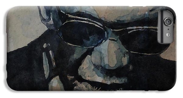 Rock And Roll iPhone 6s Plus Case - Georgia On My Mind - Ray Charles  by Paul Lovering
