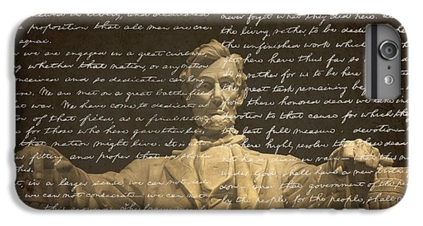 Gettysburg Address IPhone 6s Plus Case