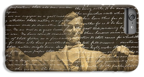Gettysburg Address IPhone 6s Plus Case by Diane Diederich