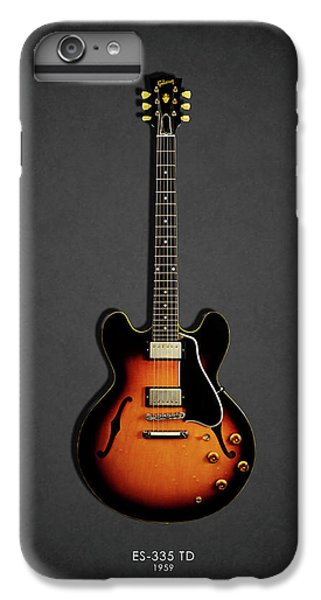 Guitar iPhone 6s Plus Case - Gibson Es 335 1959 by Mark Rogan