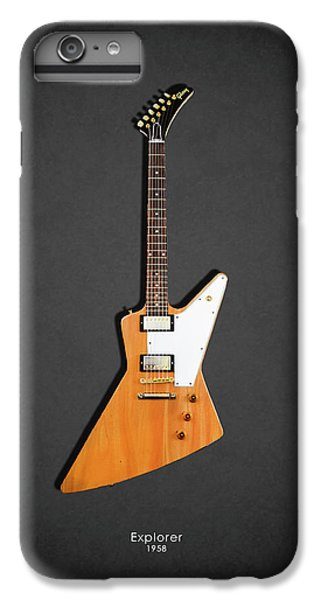 Guitar iPhone 6s Plus Case - Gibson Explorer 1958 by Mark Rogan