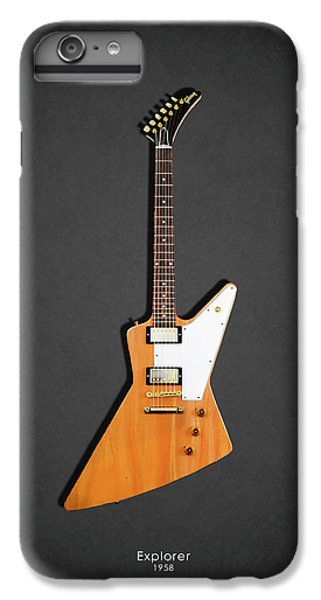 Guitar iPhone 6s Plus Case - Gibson Explorer 1958 by Mark Rogan
