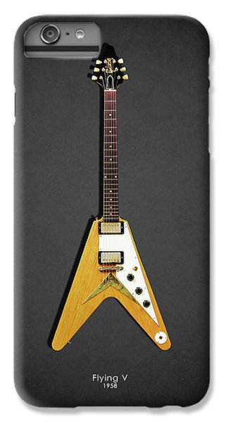 Guitar iPhone 6s Plus Case - Gibson Flying V by Mark Rogan