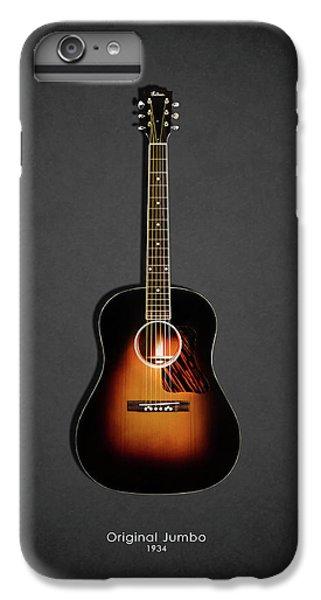 Guitar iPhone 6s Plus Case - Gibson Original Jumbo 1934 by Mark Rogan