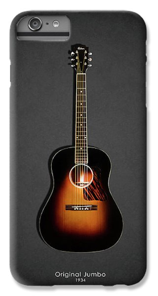Guitar iPhone 6s Plus Case - Gibson Original Jumbo 1934 by Mark Rogan