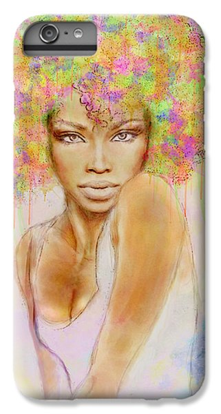 Girl With New Hair Style IPhone 6s Plus Case by Lilia D