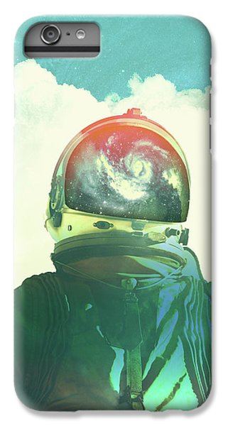 Space iPhone 6s Plus Case - God Is An Astronaut by Fran Rodriguez