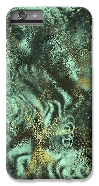 iPhone 6s Plus Case - Golden Green by Orphelia Aristal