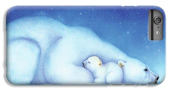 Arctic Bears, Goodnight Nanook IPhone 6s Plus Case by Tracy Herrmann